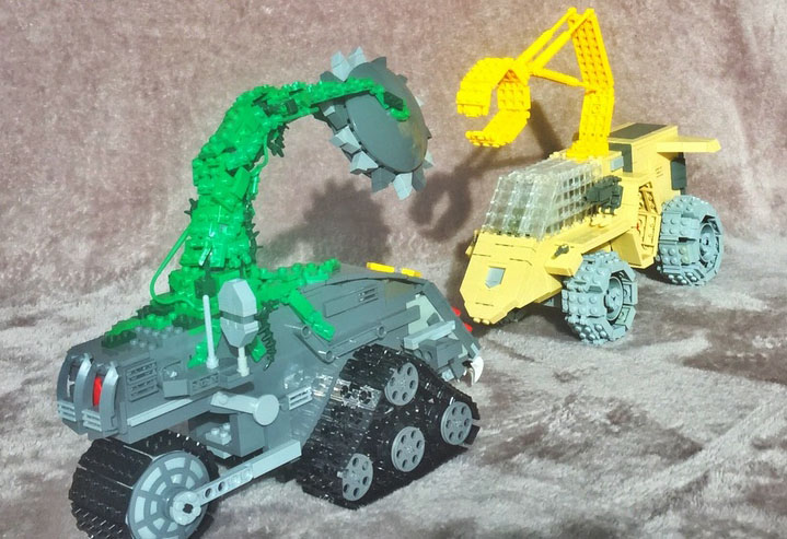 Lego de Jayce et les conquérants de la lumière