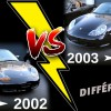 Boxster comparaison Phase 1 et Phase 2