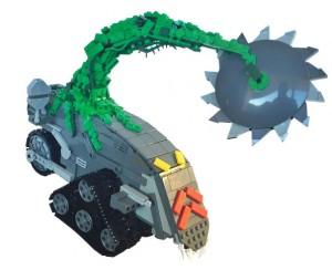 monstroplante Lego de Jayce et les conquérants de la lumière