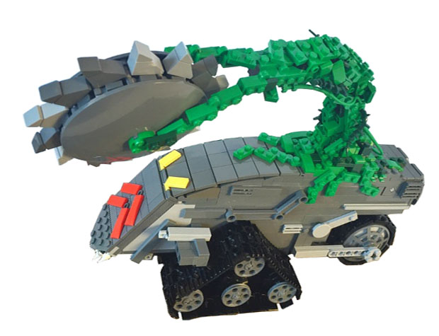 Jayce and the Wheeled Warriors Lego Saw Boss