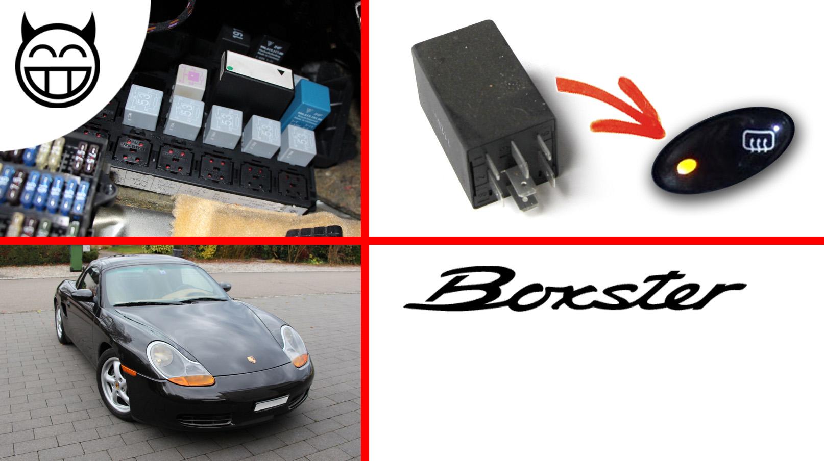 Boxster 986 relais
