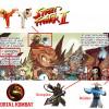 Légendaires parodia Street Fighter et Mortal Kombat