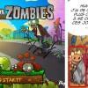 Légendaires parodia plantes VS Zombis