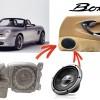Boxster 986 hauts-parleur speaker enceintes