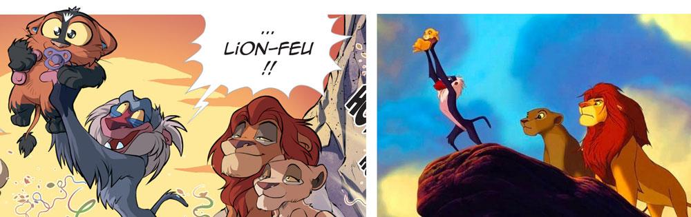 Légendaires parodia tome 3 - Roi Lion Feu