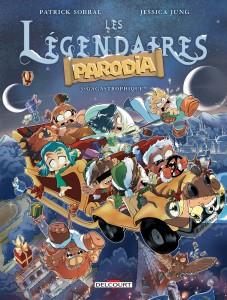 Légendaires parodia tome 3 couverture