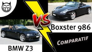 Comparatif BMW Z3 VS Boxster - test