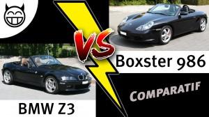 Comparatif BMW Z3 VS Boxster - test