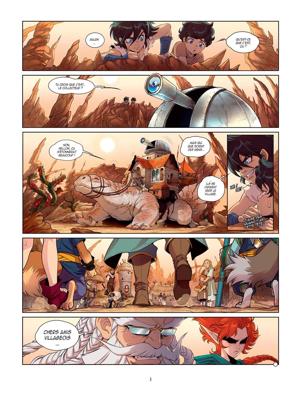 Chroniques de Darkhell Tome 1 page 3