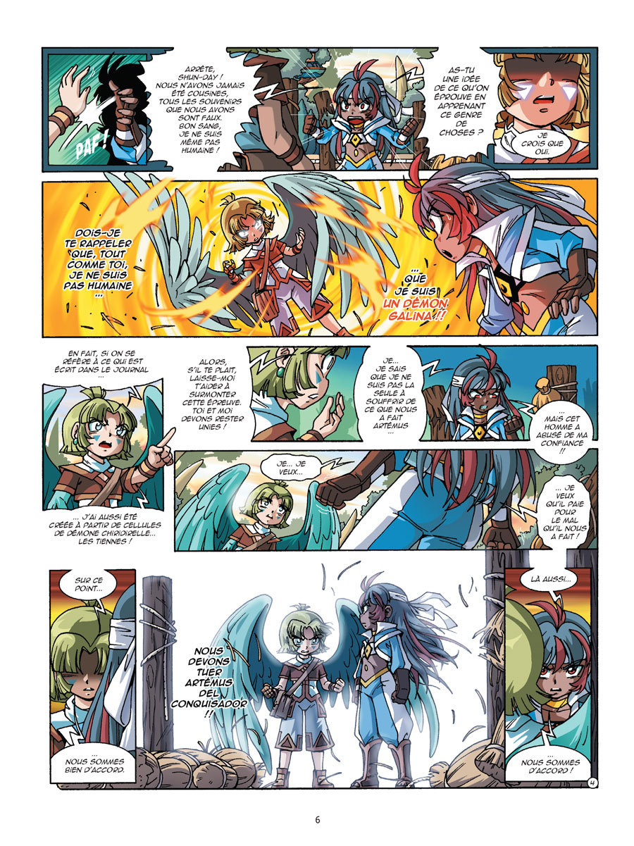 Les Légendaires Tome 22 Page 6
