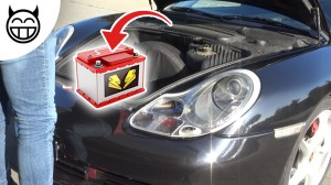 Porsche 996 changer la batterie