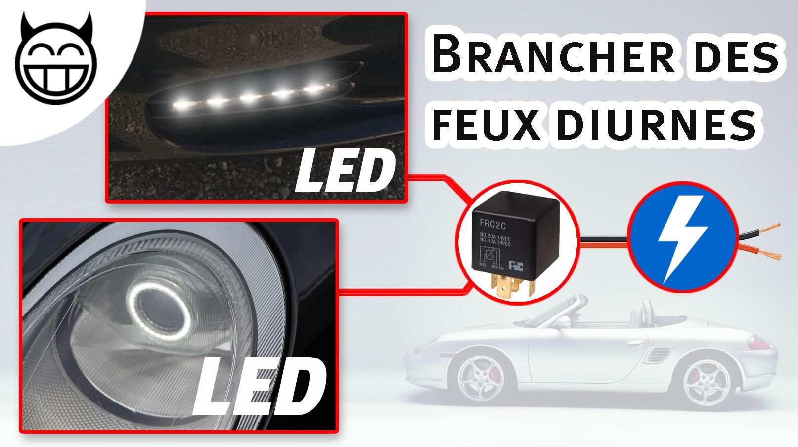 Boxster Branches de LED diurnes
