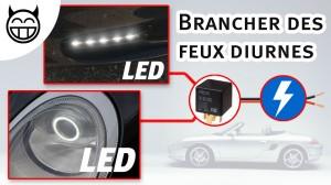 Porsche 996 Brancher feux dirunes LED