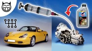 changer huile de boite vitesse Boxster 986