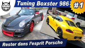 Porsche Boxster Tuning Partie 1