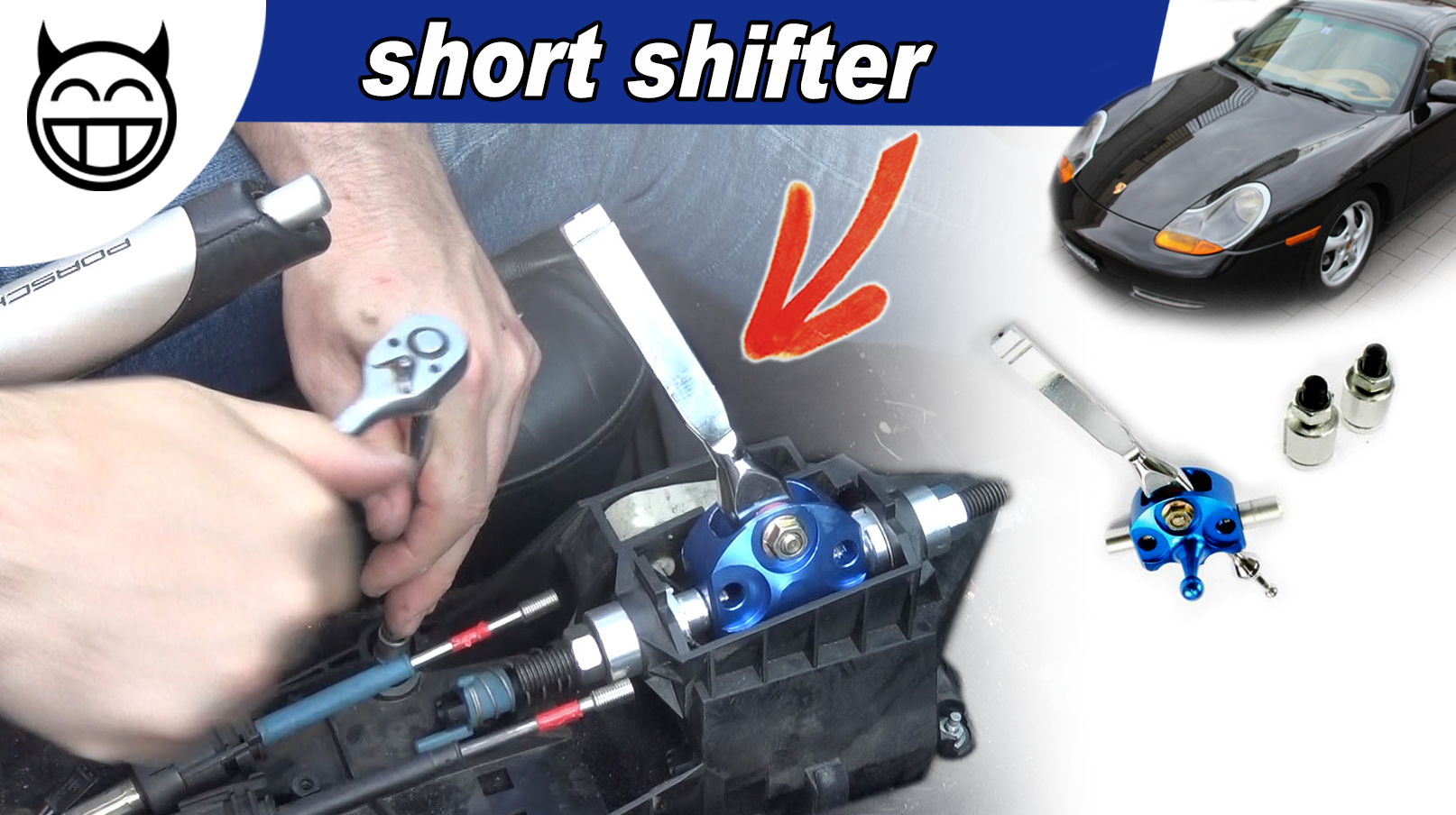 Boxster Levier court - Short shifter