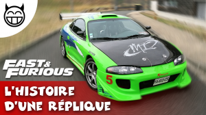 Mitsubishi Eclispe Fast and furious réplique