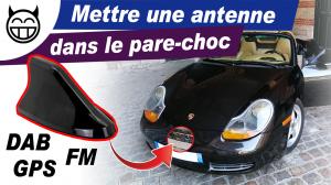 Antenne dans le pare-choc Boxster 986