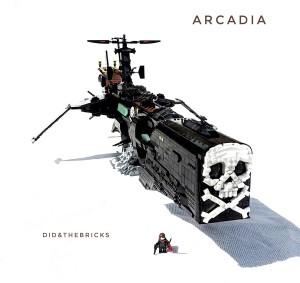 Arcadia Atlantis Lego 135 cm  x 70 cm - Albator