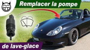 Pompe de liquide lave-glace de Porsche 996
