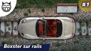 Boxster sur rails de chemin fer