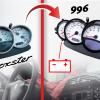 Compteur Porsche 996 sur Boxster 986