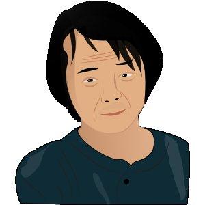 Auto portrait de Mamoru Oshii