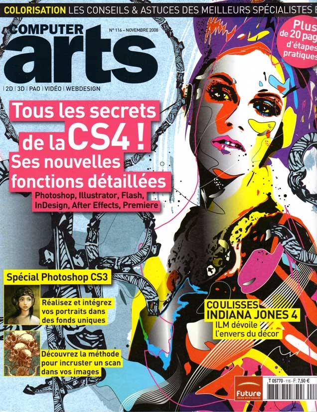 Computer Arts n°116 Couverture Novembre 2008