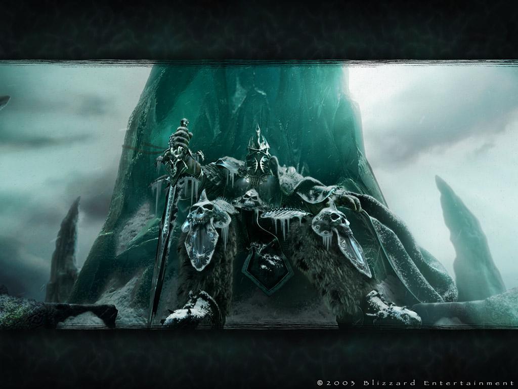 Image d'Arthas devenu Roi Lich
