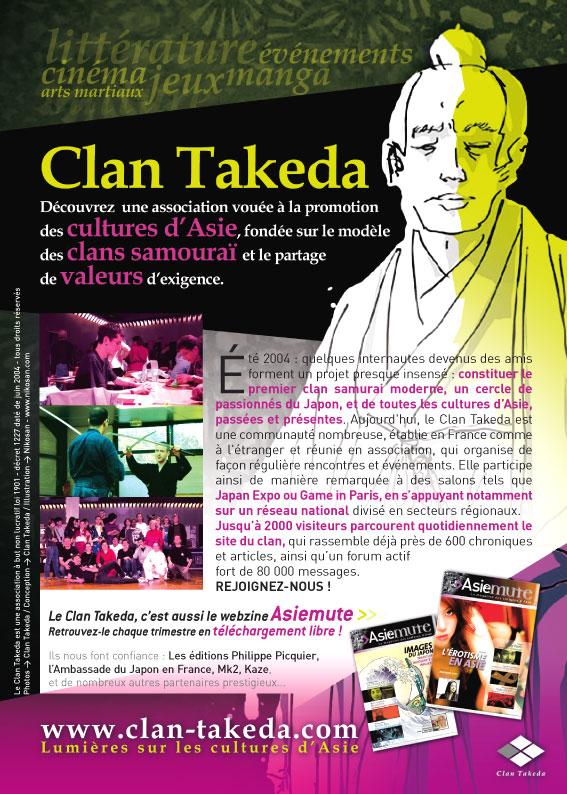 Présentation du clan Takeda