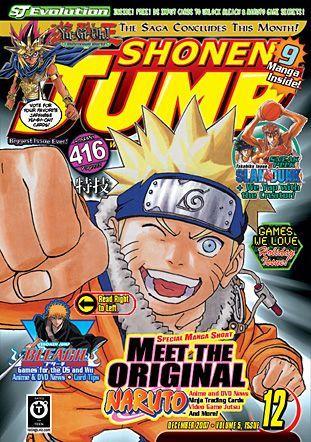 Couverture de Shonen Jump