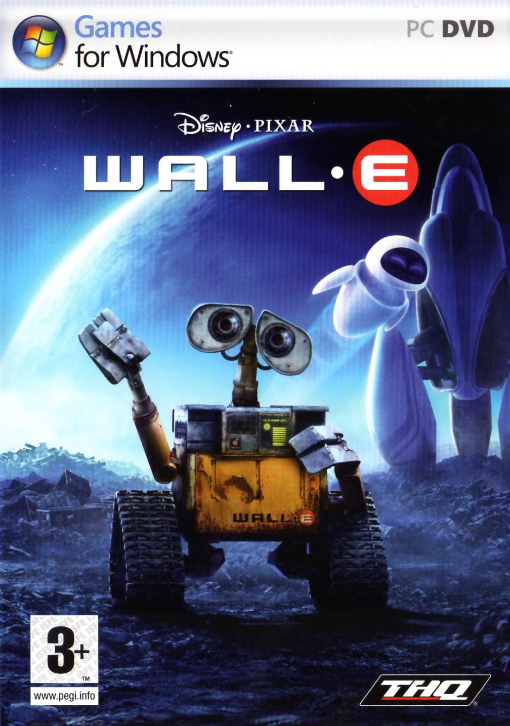 Jeu vidéo Wall-E (2008) couverture