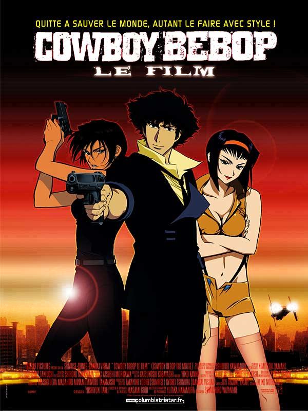 affiche du film Cowboy bebop anime
