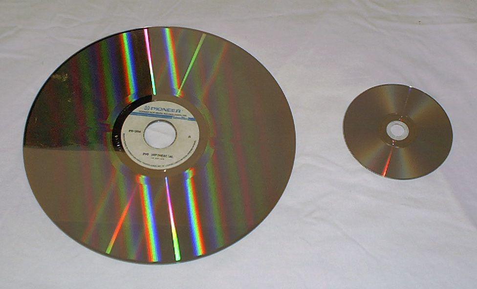 Comparaison LD et DVD