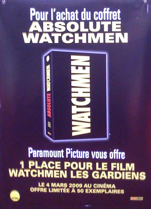 Coffret watchmen
