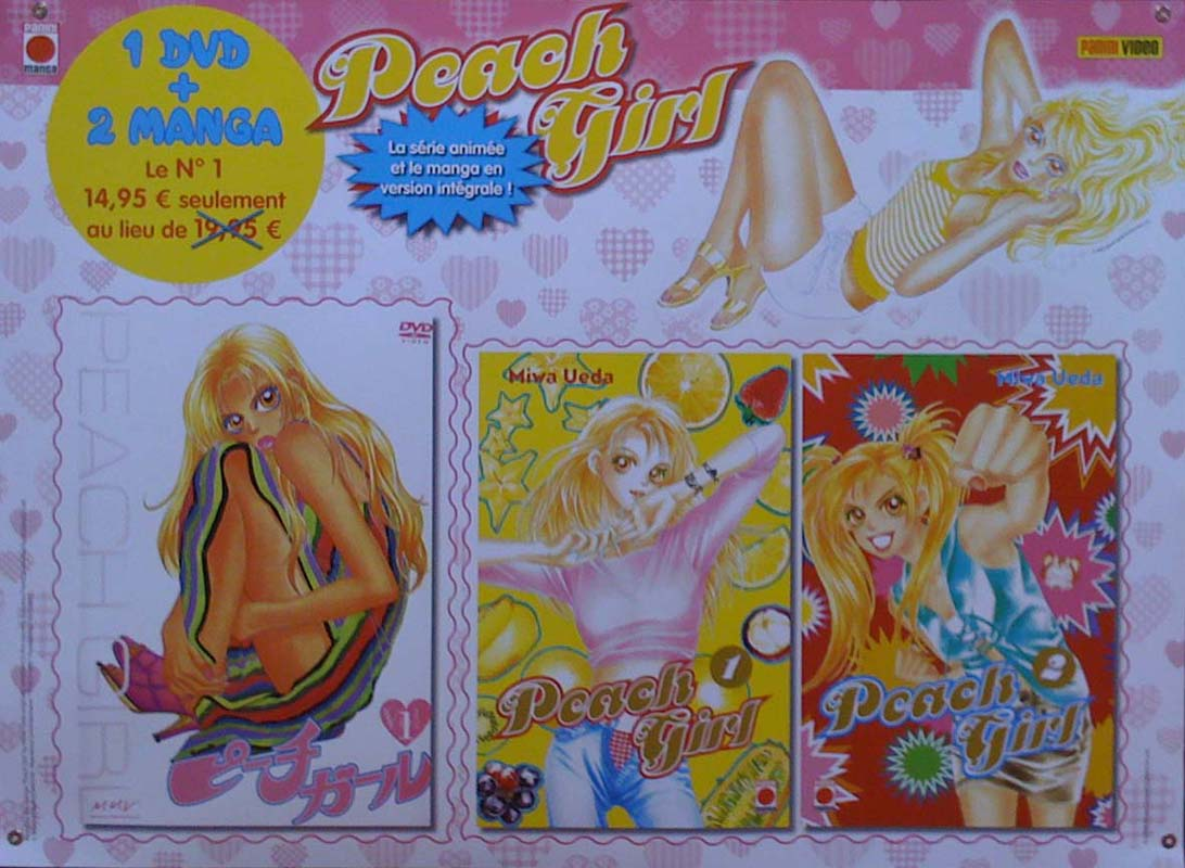 Peach Girl coffret
