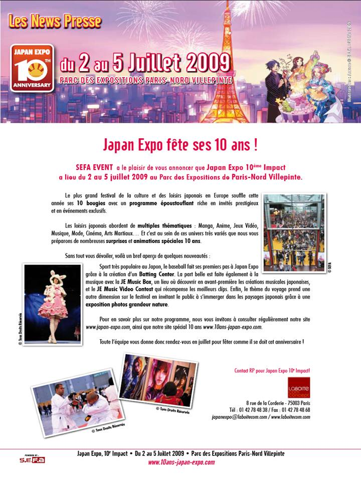 Japan Expo 10 ans