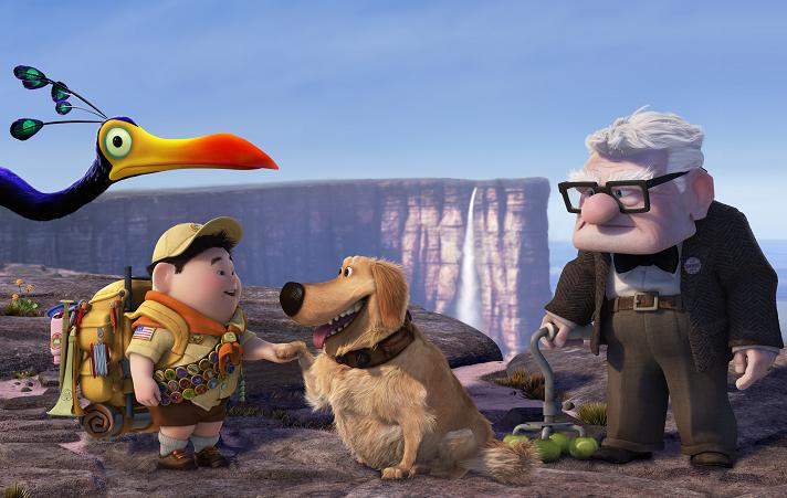 Image du film La_haut des studios Pixar