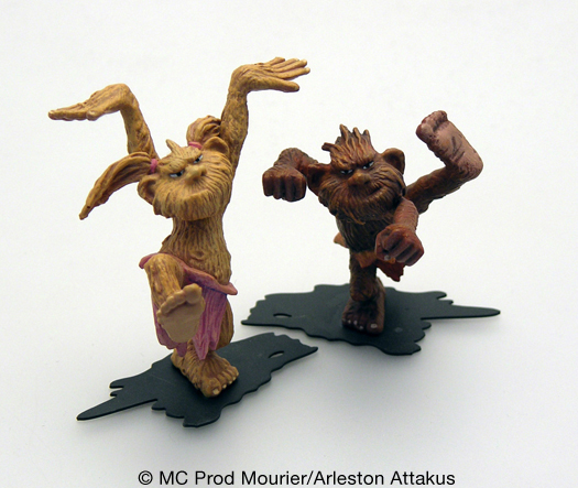 Figurine Trolls de Troy (Mourrier / Arleston)