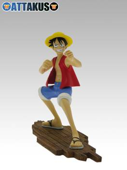 Figurine Luffy de One Piece (Oda)
