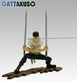 Figurine Rononoa Zoro de One Piece (Oda)