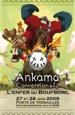 Affiche de la Ankama Convention 4