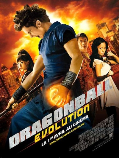Affiche du film Dragon ball Evolution