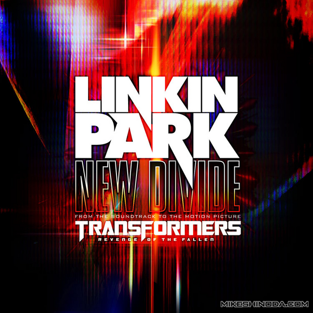 Image de la couverture du single New Divide du groupe Linkin Park réalisé pour l'ost de Transformer 2
