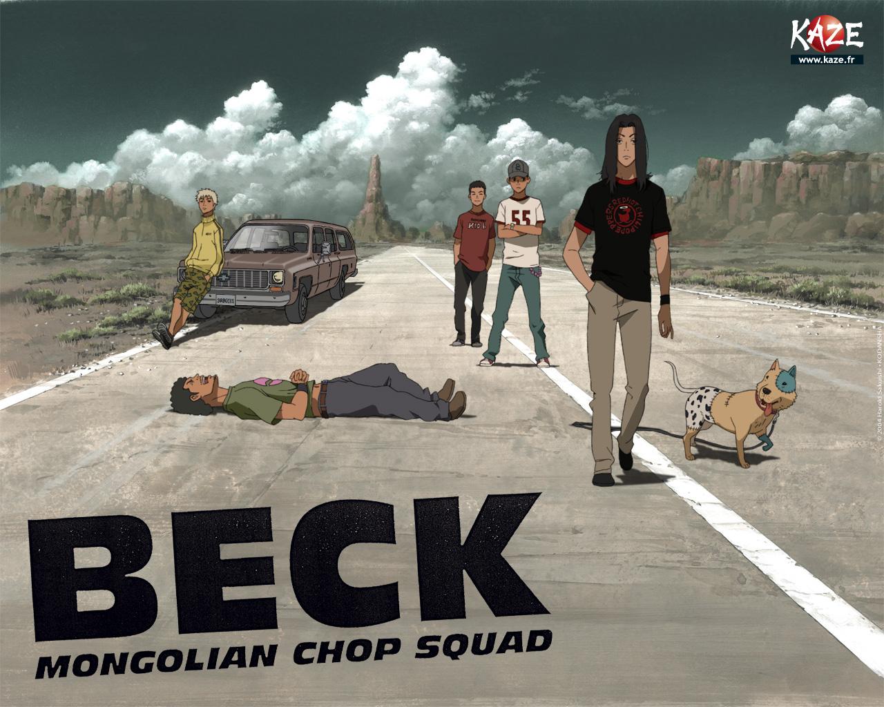 Wallpaper de Beck, réalisé par Kaze