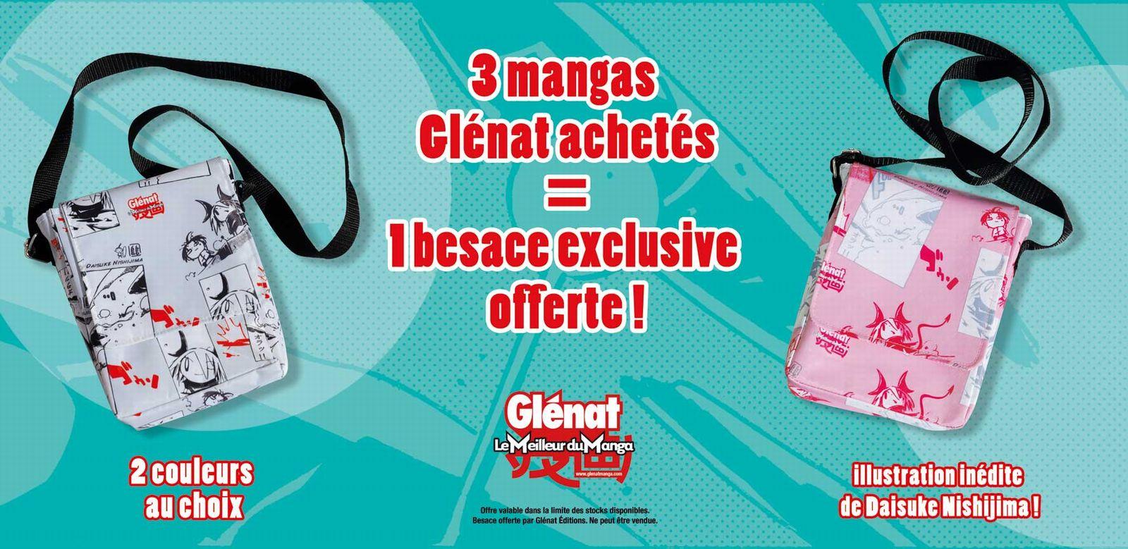 Flyer de l'annonce Glenat pour l'été 2009