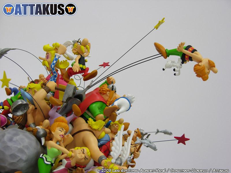 maquette d'Attakus pour les 50 ans d'Astérix