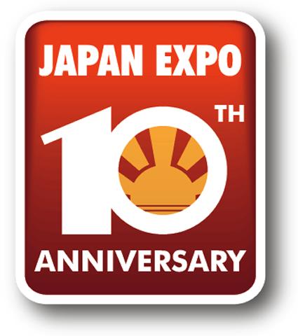Logo des 10 ans de Japan Expo