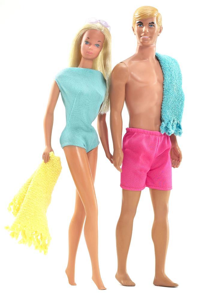 Barbie dans les 70's