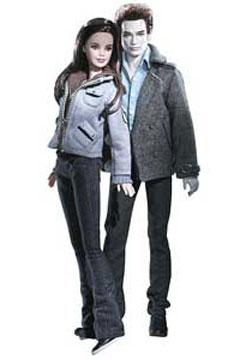 Poupée reprenant les héros de Twilight